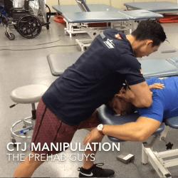 cervicothoracic junction manipulation photo