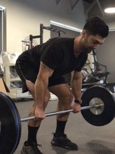 Arash deadlift