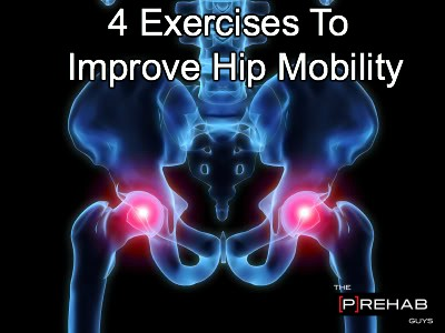 4 Exercises To Improve Hip Mobility!