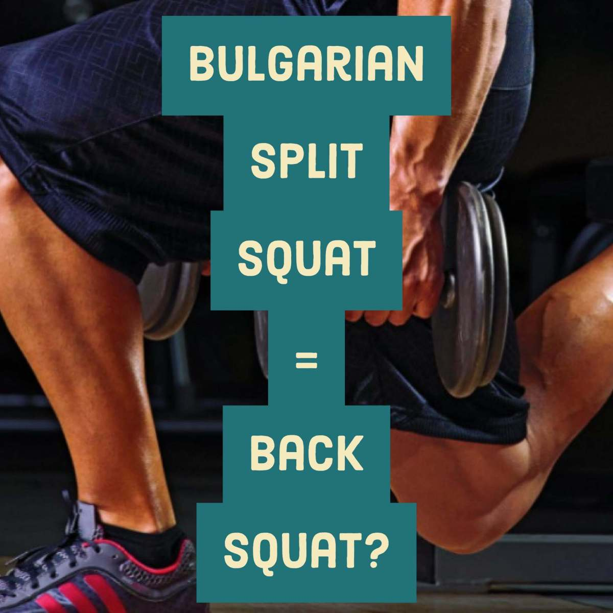 Bulgarian Split Squat is an Effective Alternative to the Back Squat