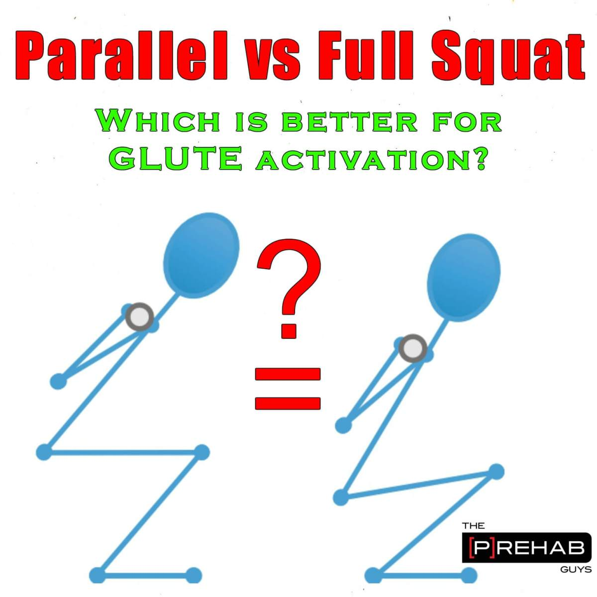 Parallel or Full Squat Depth for More Gluteal Activation?