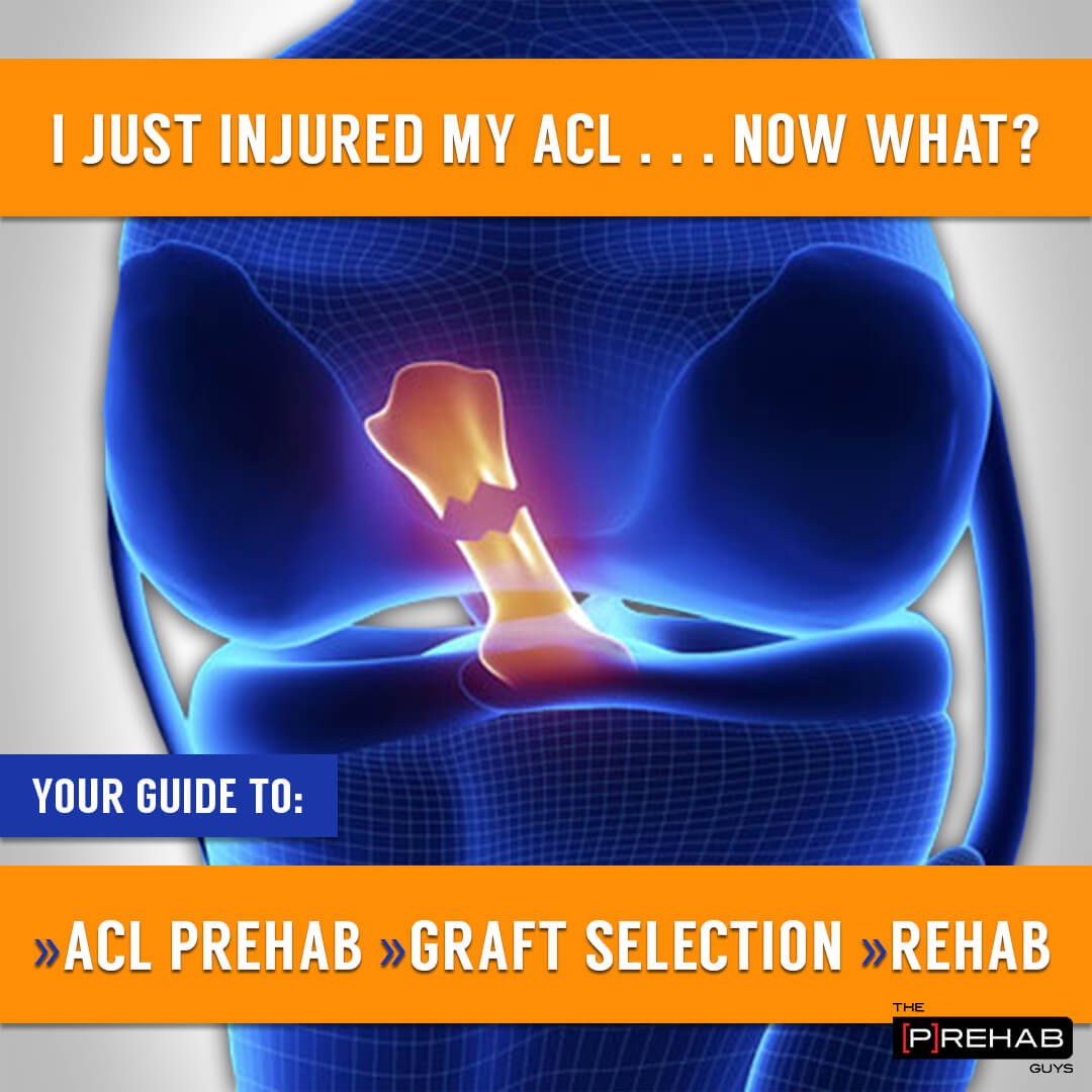 I Just Injured My ACL, Now What? Your Guide to ACL Graft Options and Prehab with Dr. Nima Mehran