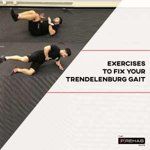 trendelenburg gait exercises best exercises for glute med prehab guys