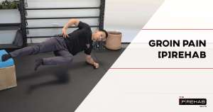 groin pain rehab bodyweight chair exercise