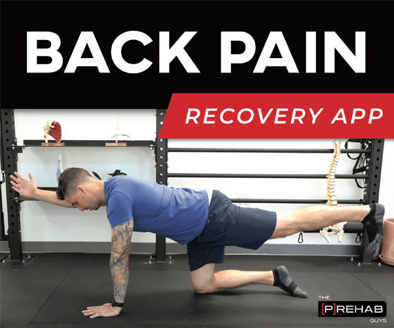 back pain recovery program