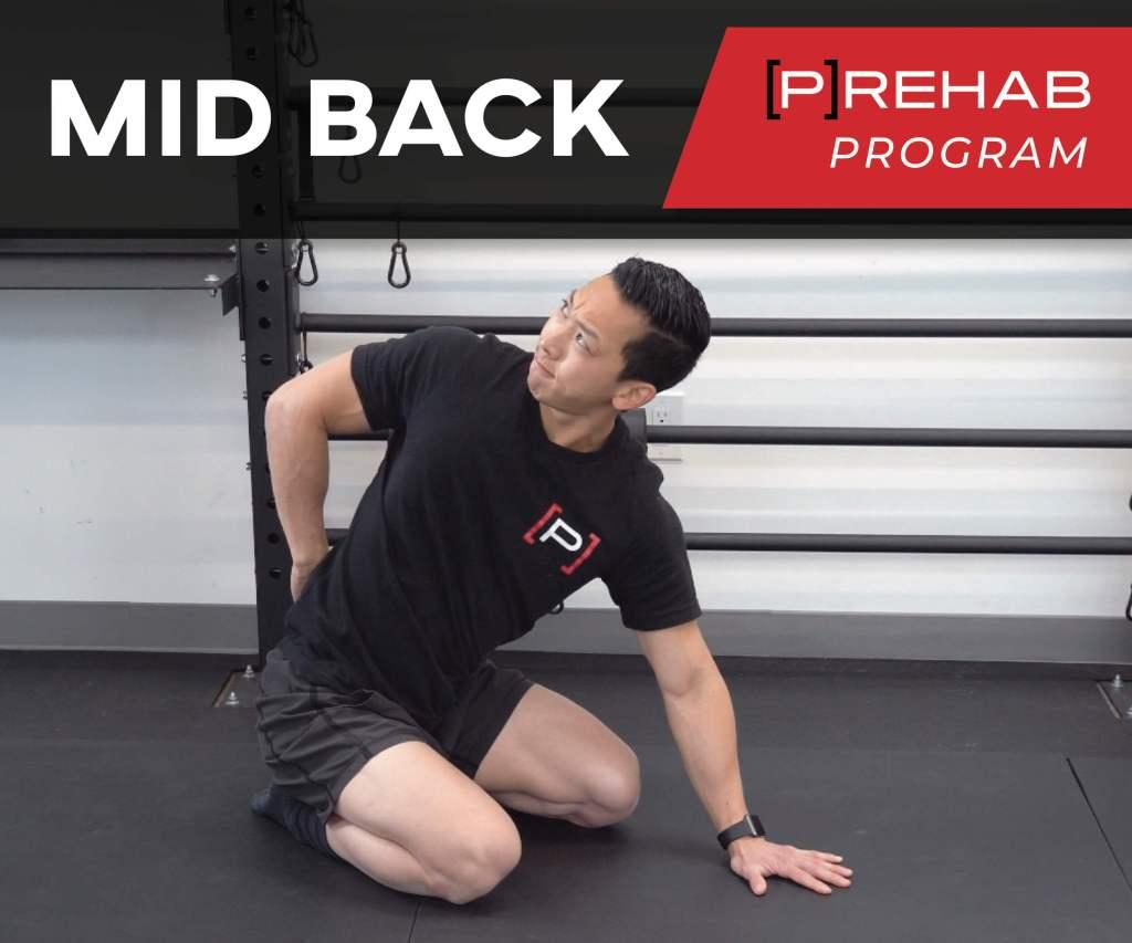 mid back prehab program