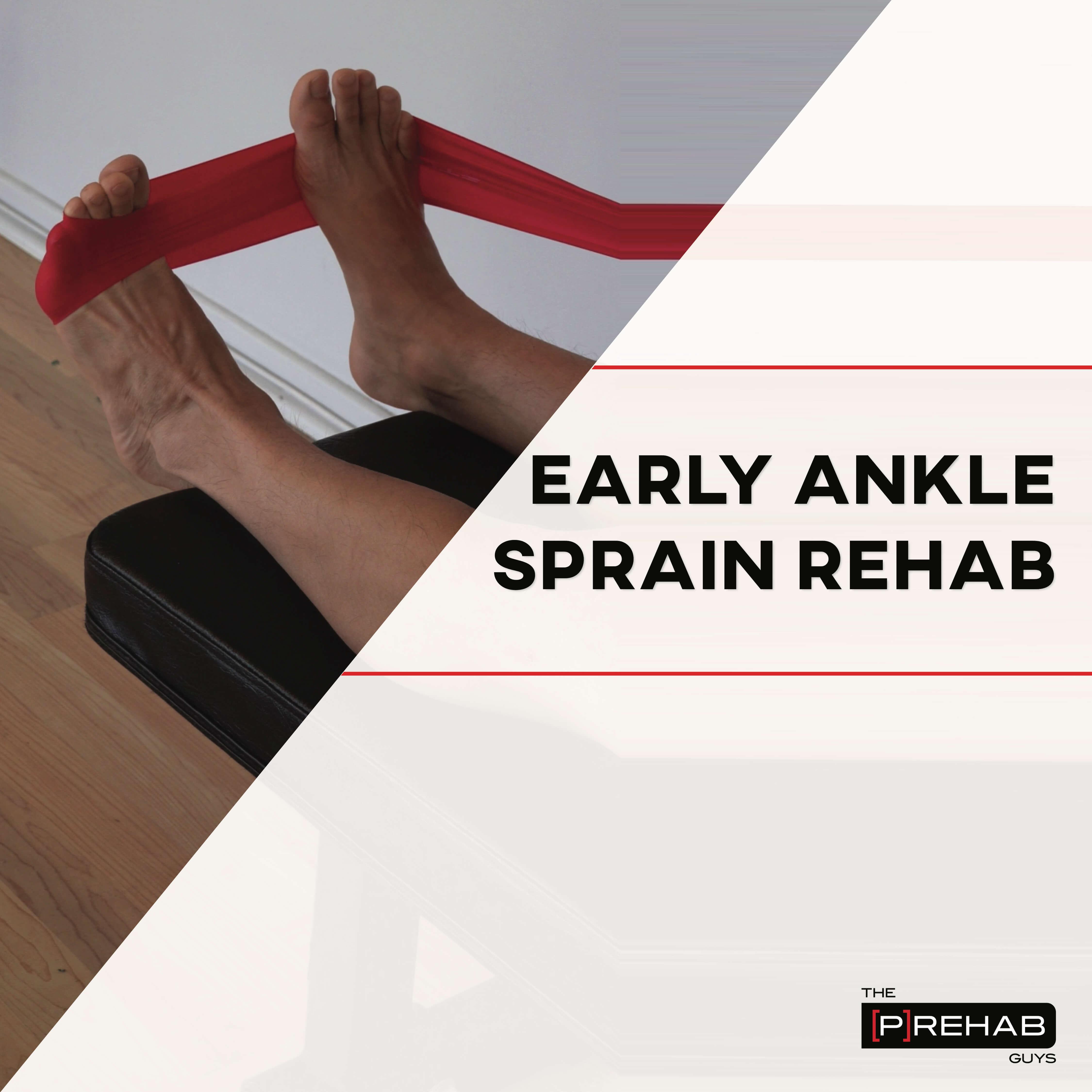 ankle sprain rehab IG