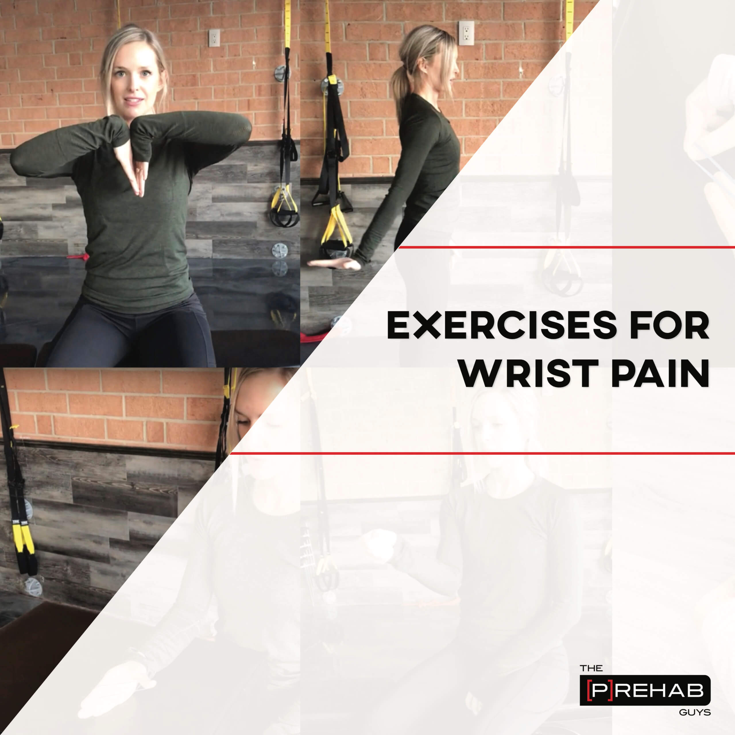 exercises for wrist pain the prehab guys