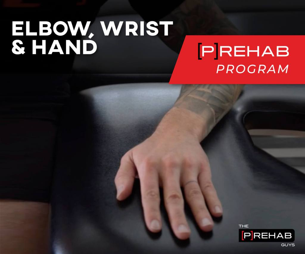 ELBOW, WRIST & HAND [P]REHAB PROGRAM
