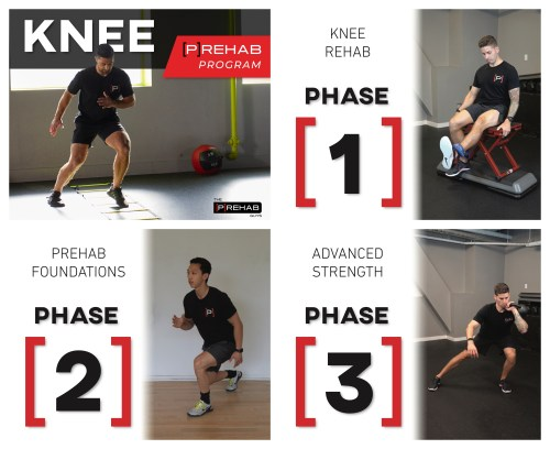 knee program deceleration control the prehab guys