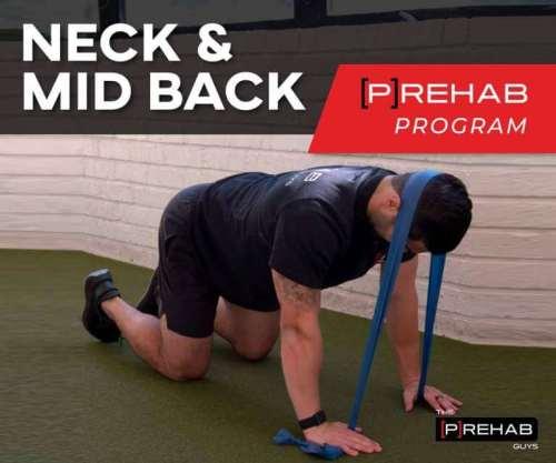 neck mid back program perfect desk posture