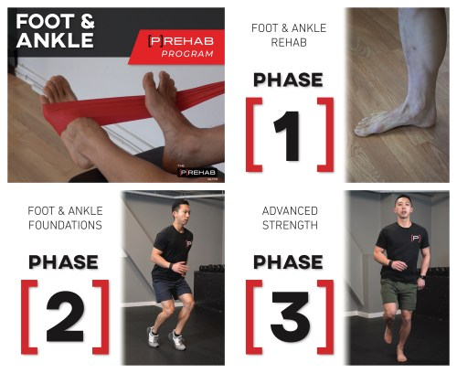 foot ankle program the prehab guys plantar fasciitis