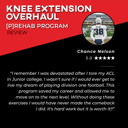 TPG Testimonies - Knee Extension Overhaul - Chance Nelson