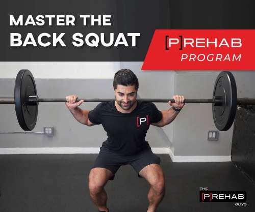 master the back squat prehab program learn how to pistol squat
