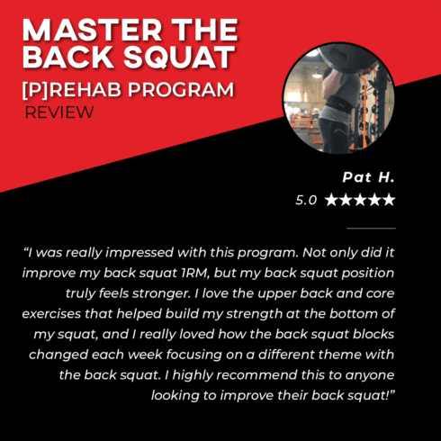 TPG Testimonies - Master The Back Squat - Pat H