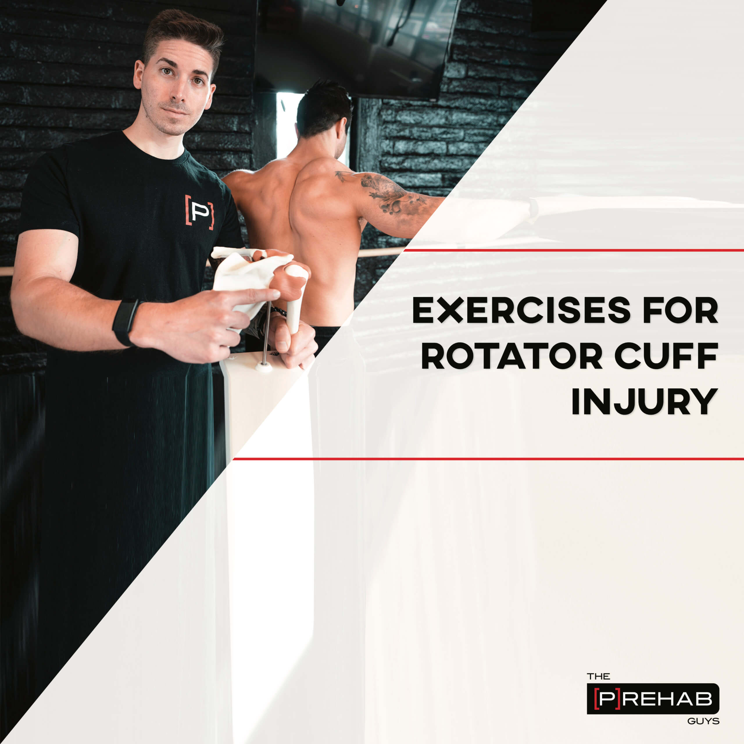 non-operative exercises for rotator cuff injury workout the prehab guys