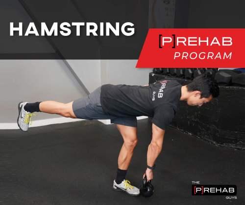 hamstring prehab program proper stretching