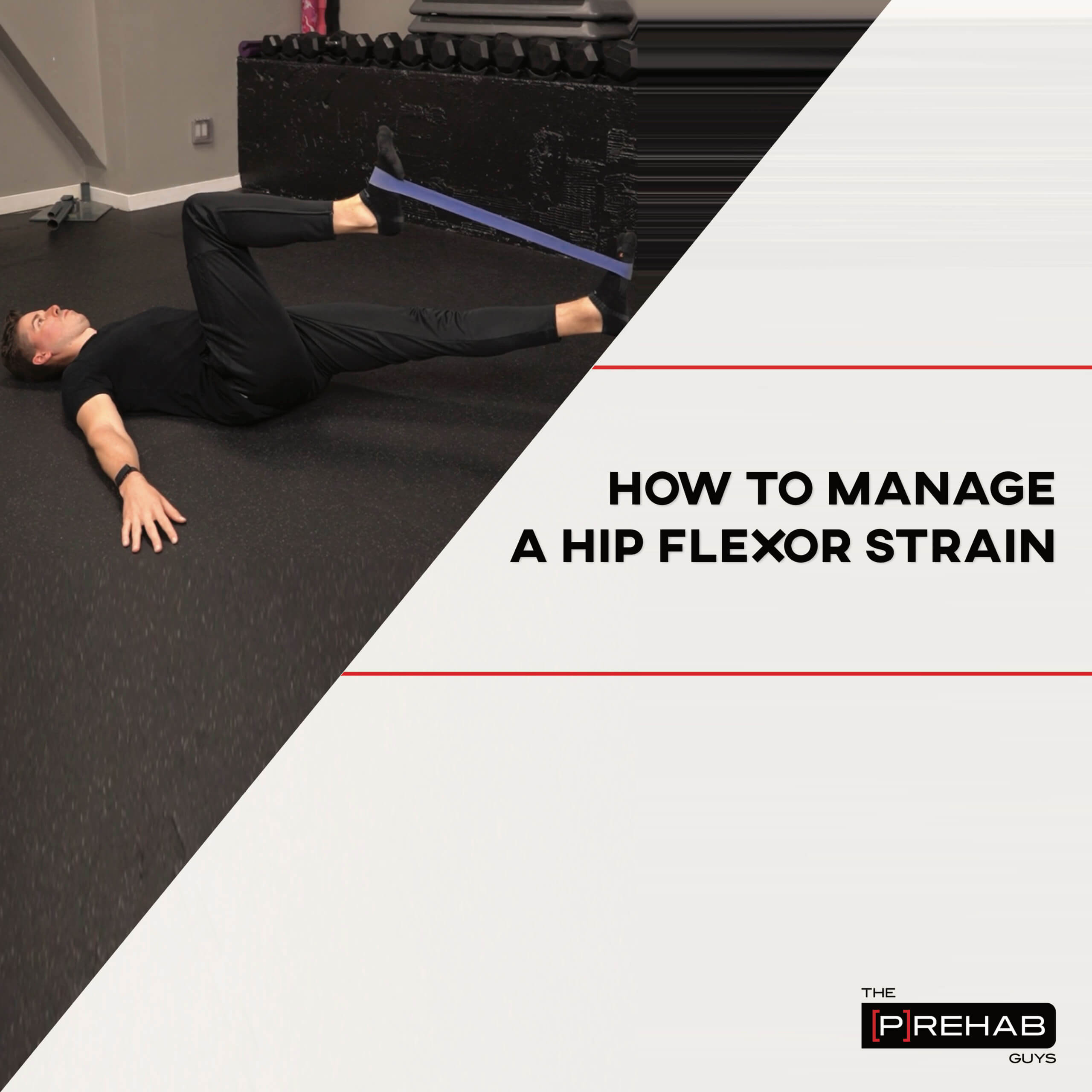 hip flexor strain workout the prehab guys