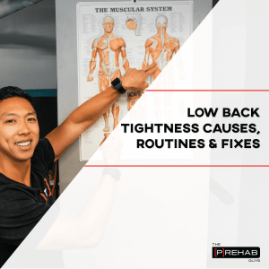 low back tightness causes routines fixes the prehab guys