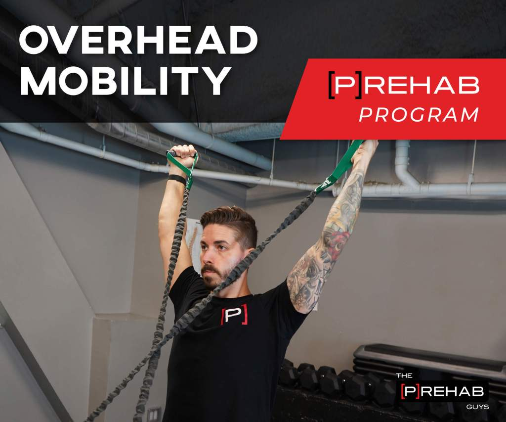 overhead mobility prehab program the prehab guys