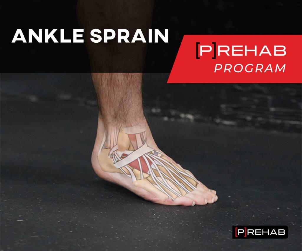 ankle sprain prehab program