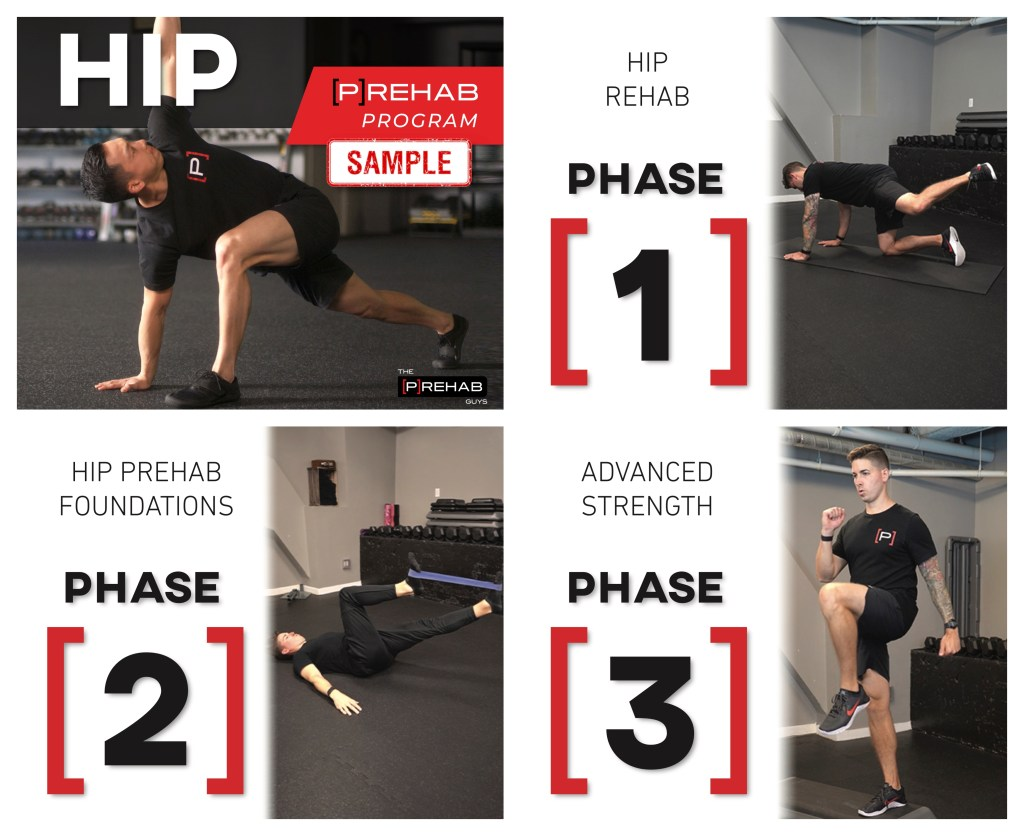 turn on your glutes hip prehab program