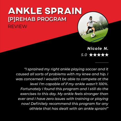 TPG Testimonies - Ankle Sprain - Nicole N