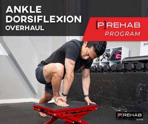 ankle dorsiflexion the prehab guys