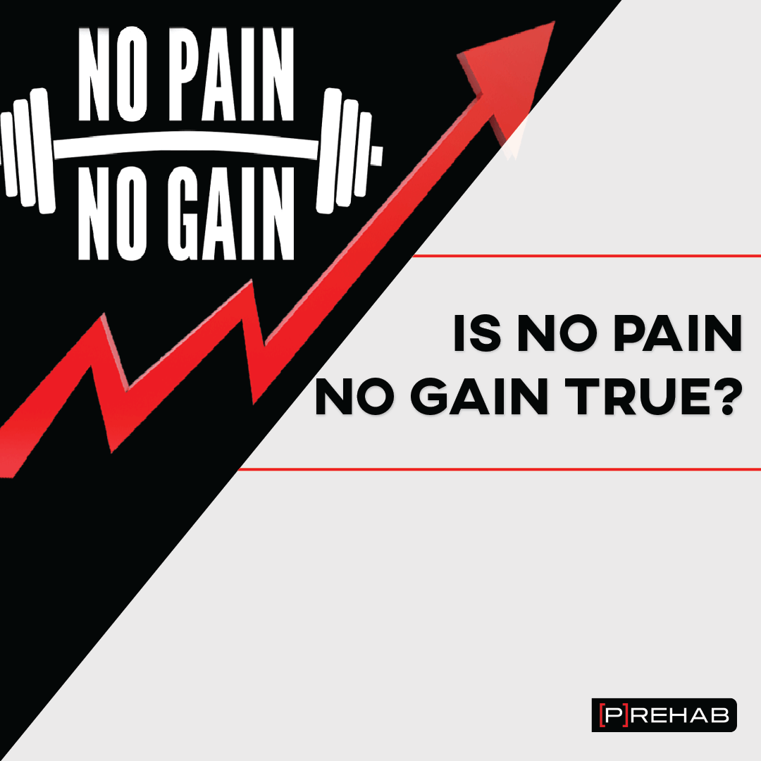 is no pain no gain true the prehab guys is pain a prediction