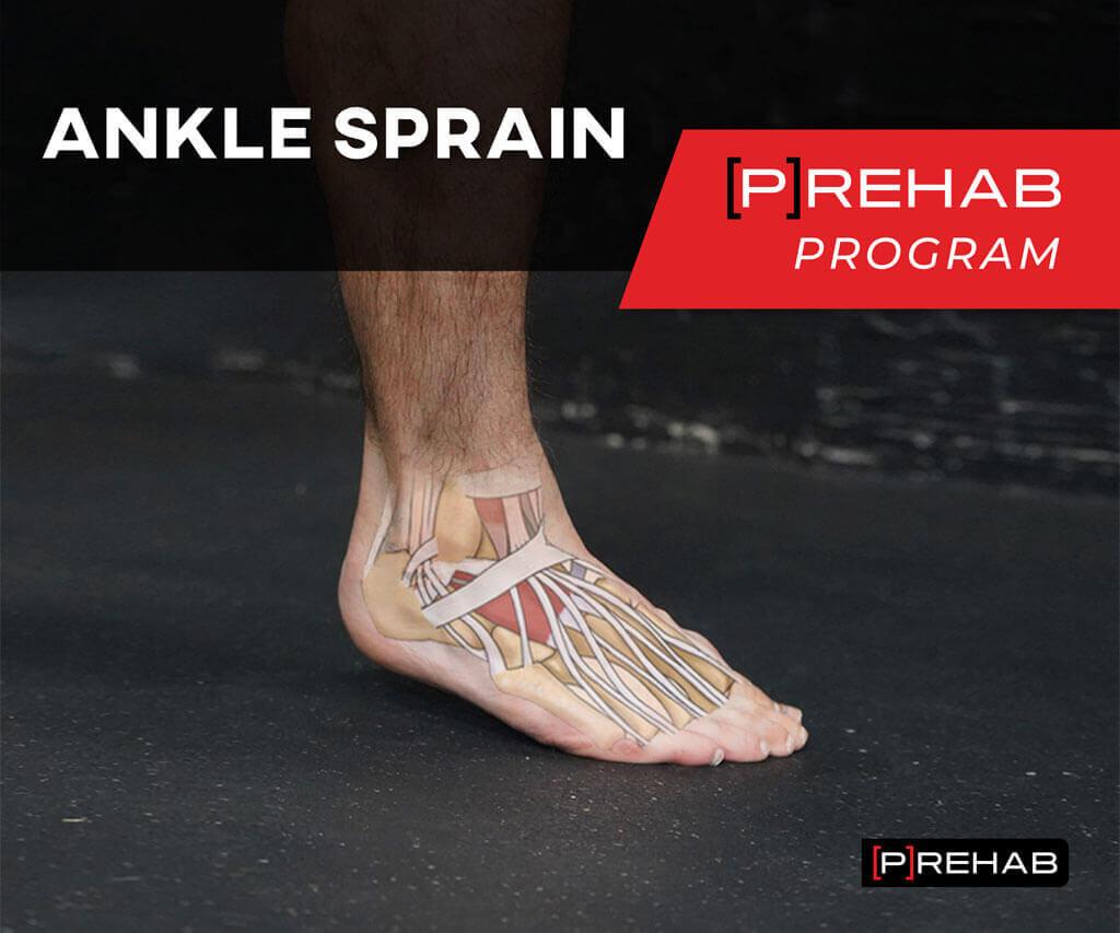 ankle sprain prehab program postural control the prehab guys