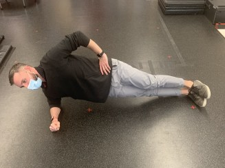 side plank hip abduction strength gluteal tendinopathy the prehab guys
