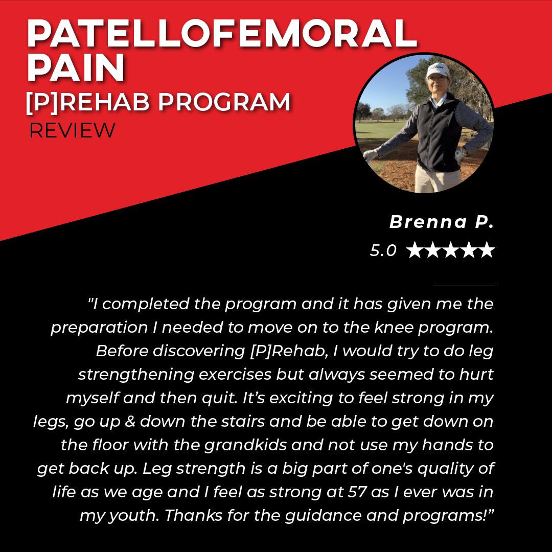TPG Testimonials - Petellofemoral Pain - Brenna P