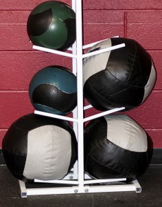 Medicine ball differences for exercises prehab