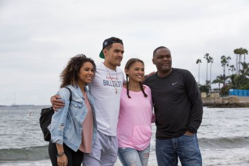 Trae Young & family