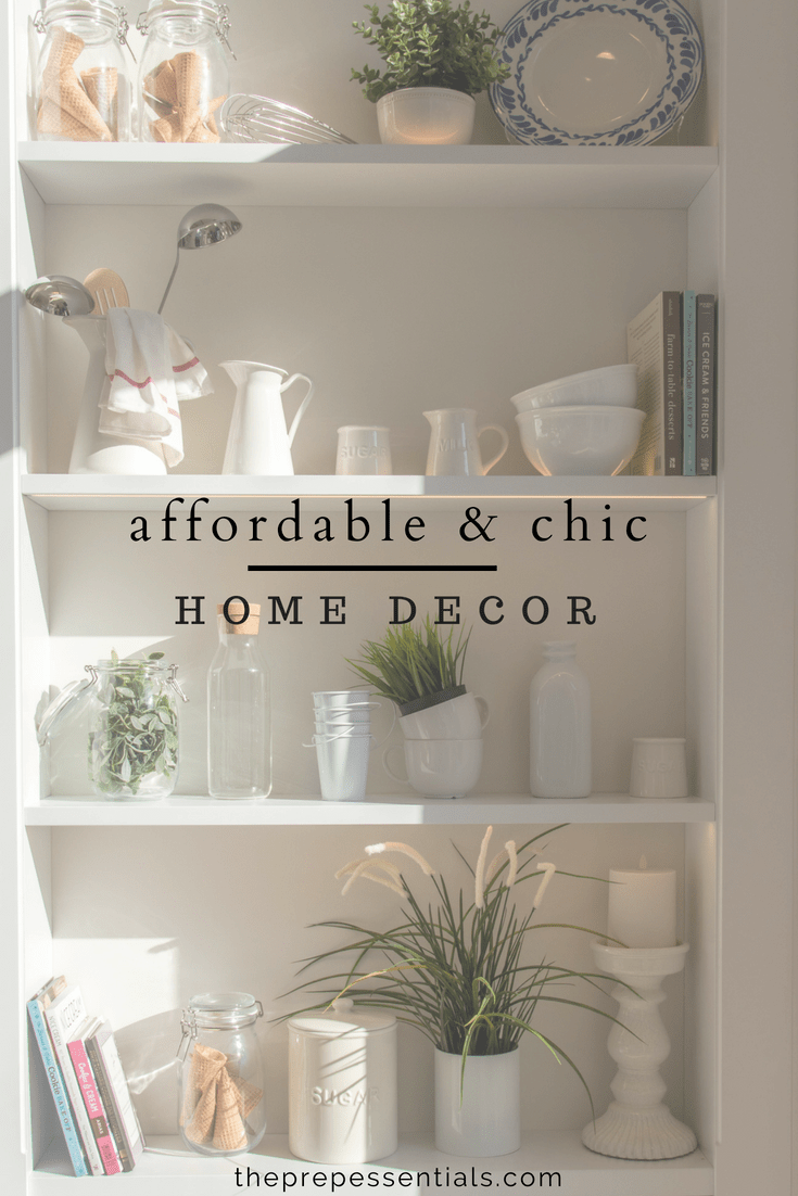 affordable and chic home decor and where to find it