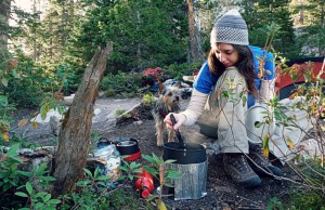 Learn what to carry and how to cook outdoors.