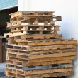 There are probably 1,001 uses for wooden shipping pallets besides sticking them in a burn barrel. We can regularly source them for free or for very low cost by talking to distribution centers and contractor supply stores about their breakage piles, eyeballing the dumpster areas of shopping centers and warehouses, or checking sites like Craigslist and Freecycle.