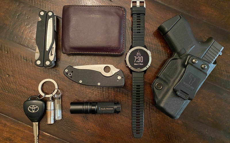 Everyday carry items could save your life.