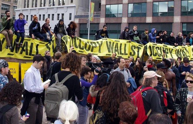 protest against wall street