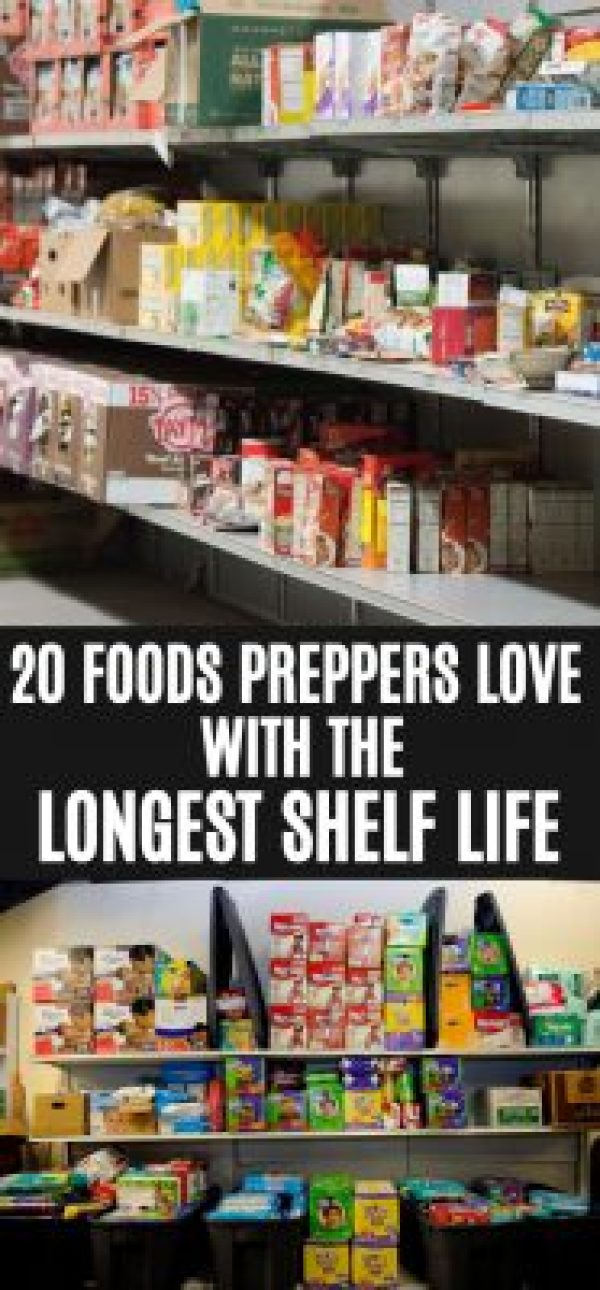 What foods have the longest shelf life?