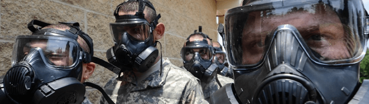 M50 gas mask is the gas mask you need for a nuclear, chemical or biological attack