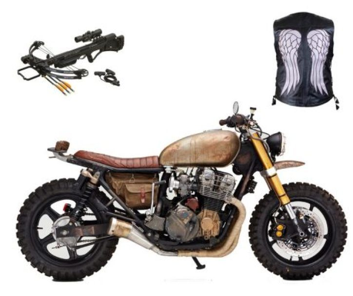 darryl dixon's bike, walking dead