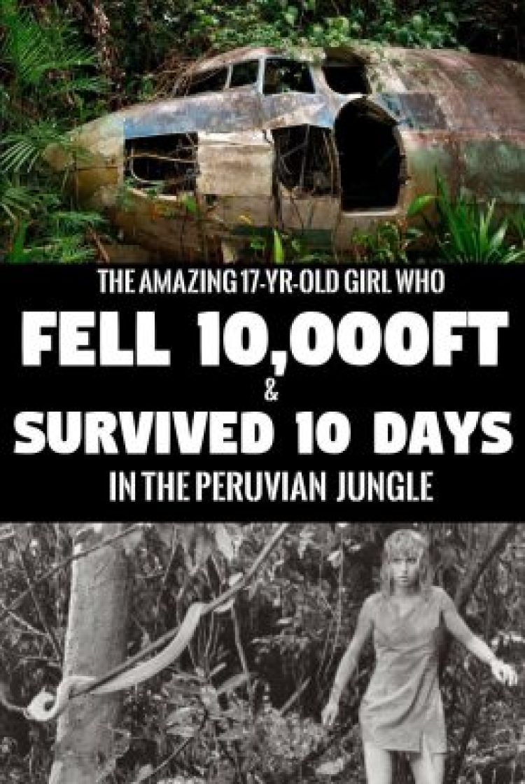Juliane Koepcke: The Story of Survival from a Jungle Air Crash