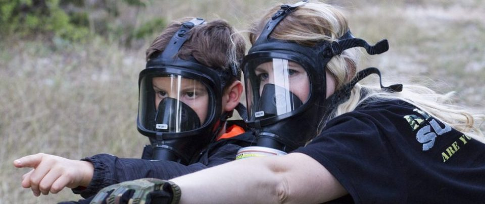 CBRN Gas Mask for kids