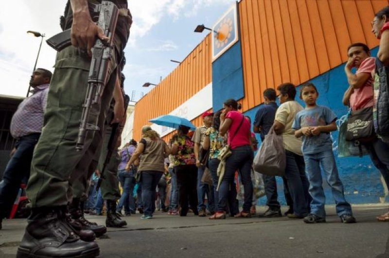 Food shortage in Post-Collapse Venezuela