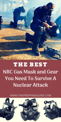 Nuclear Survival: The Gas Mask and Gear You Need To Survive An Attack