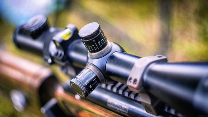 Rifle scope adjustments