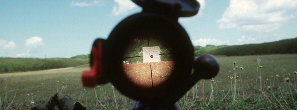 sighting a rifle