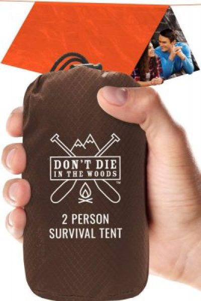 Don't Die In The Woods Tent