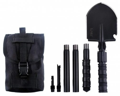 IUNIO Military Portable Folding Shove